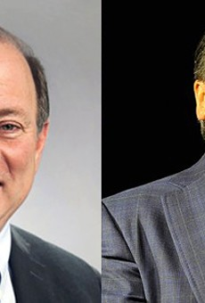 Detroit Mayor Mike Duggan once accidentally told reporters that businessman Dan Gilbert was his boss.
