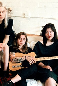 Phoebe Bridgers, Julien Baker, and Lucy Dacus
