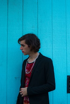 Transangelic prince Ezra Furman will play the Loving Touch with Anna Burch