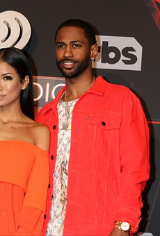 Jhené Aiko and Big Sean.