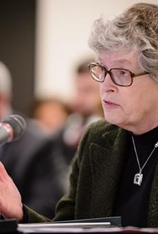 Former Michigan State University President Lou Anna Simon.