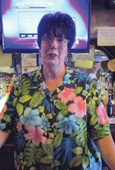 "Cas Bar owner Beverly ""Mama Jo"" Sassin."
