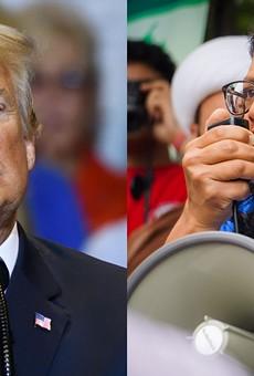 It's Trump vs. Tlaib.