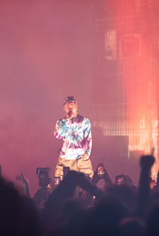 Travis Scott's over-the-top Detroit show was still all about the music