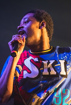 Danny Brown performing at the Majestic Theatre, 2018.