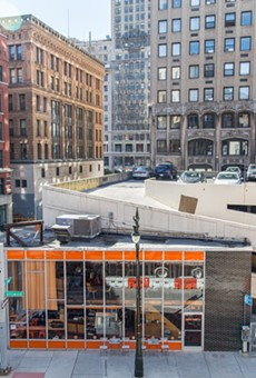 Actually, there was stuff going on in Detroit's Capitol Park before Bedrock moved in
