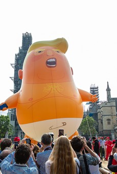 The 'Baby Trump' balloon is coming to Grand Rapids