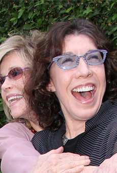 Besties Jane Fonda and Lily Tomlin.