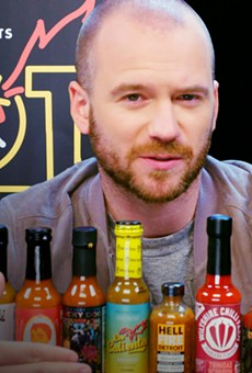 HellFire Detroit hot sauce is on the new season of 'Hot Ones,' the spiciest interview show ever