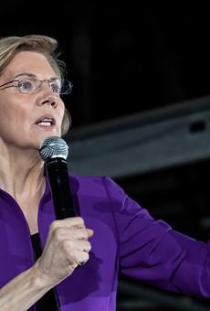 Democratic 2020 presidential candidate Elizabeth Warren.