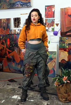 Gisela McDaniel confronts sexual trauma and inspires empowerment in striking exhibition at Playground Detroit