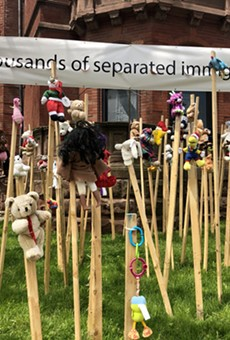 Poignant exhibit in Detroit honors 'thousands of separated immigrant children'
