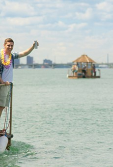Tiki boats have arrived on Detroit's shore — so we tried one out