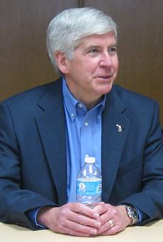 Former Gov. Rick Snyder.