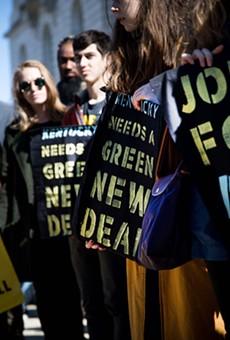 Progressives at a recent rally in Washington D.C.