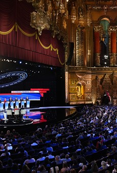 In many ways, Detroit's theater and sports district was the perfect venue for CNN's debate.