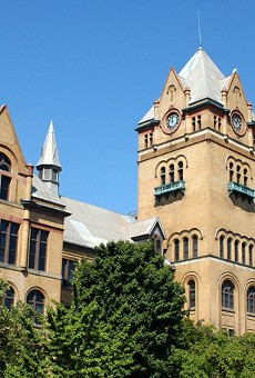 Old Main at Wayne State University.