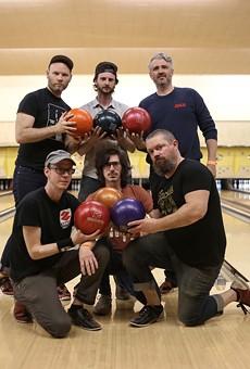 Bars of Gold, clockwise from top left: Brandon Moss, Ben Audette, John Gaviglio, Marc Paffi, Scotty Iulianelli, and Nick Jones.