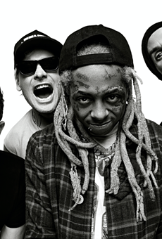 Blink 182 with Lil Wayne.