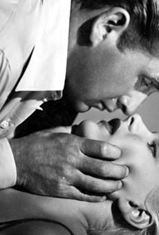 Lloyd Bridges and Barbara Payton in Trapped.