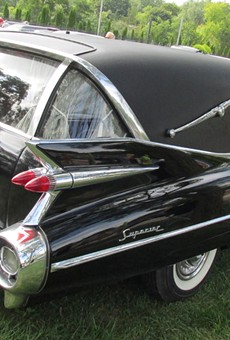 Hearse Fest features beautiful cars to die for.