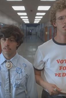 Vote for Pedro, idiot.