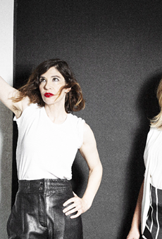 Carrie Brownstein and Corin Tucker.