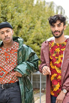 Detroit-based DIOP recently dropped its third season of colorful African-inspired shirts.
