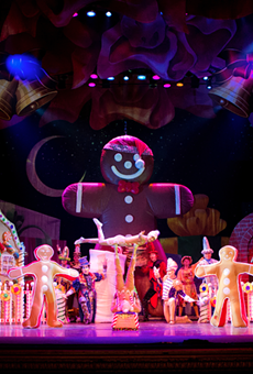 Take a trip down Candy Cane Lane with the return of Cirque Dreams Holidaze to Detroit's Fox Theatre