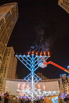 Menorah in the D returns to Detroit's Campus Martius to kick off the Festival of Lights