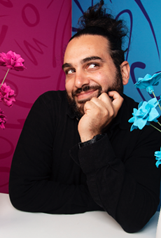 Hamtramck's Independent Comedy Club to host Esteban Touma, who has some thoughts about squirrels