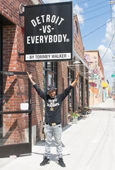 Tommey Walker opened a new Detroit vs. Everybody shop in Eastern Market.