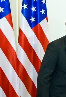 Trump's former national security adviser John Bolton.
