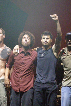 Rage Against the Machine in 2007.