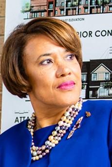 Former Flint mayor Karen Weaver.