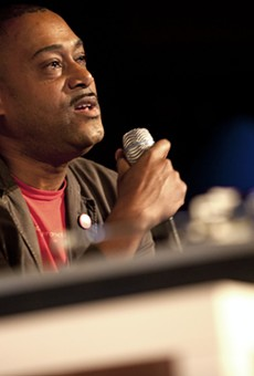 Mike Huckaby in 2011.