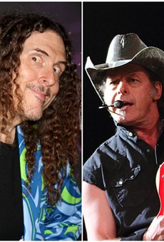 """Weird Al"" and Ted Nugent."