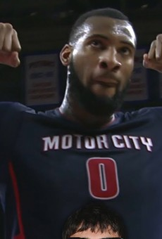 VIDEO: Pistons Andre Drummond blocks child's shot; destroys dignity
