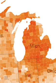 Michiganders are growing restless of Whitmer's stay-at-home order, according to cellphone data