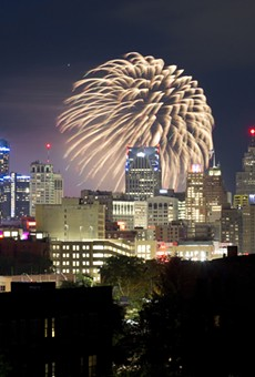 Detroit's annual Ford Fireworks show in 2019.