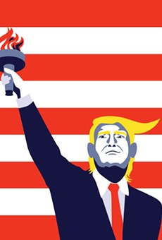 I'm a Muslim who condemns ISIS. White America, do you condemn Trump?
