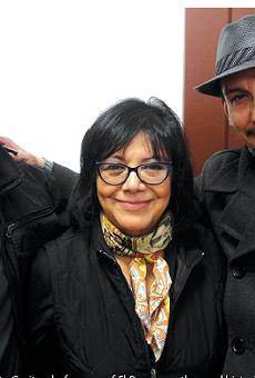 From left: Norberto Garita, chef-owner of El Barzon; author and historian Maria Elena Rodriguez; and Luis Garza, chef-owner of El Asador.