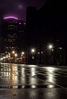 Downtown Detroit, From Rivard and Atwater.