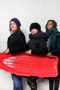 Casual Sweetheart: Erin Norris, Lauren Rossi, and Dina Bankole