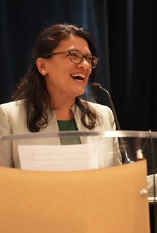 Rep. Rashida Tlaib is running for reelection.