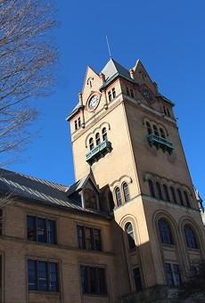 Wayne State University's Old Main building.