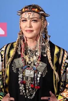 Madonna at the 2018 MTV Video Music Awards.