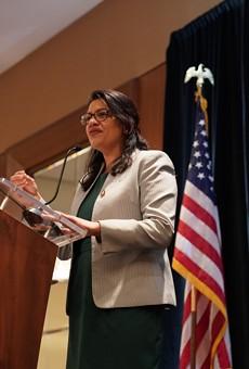 U.S. Rep. Rashida Tlaib.
