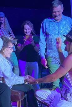 Loretta Lynn posted her 'wedding' photos to Facebook.