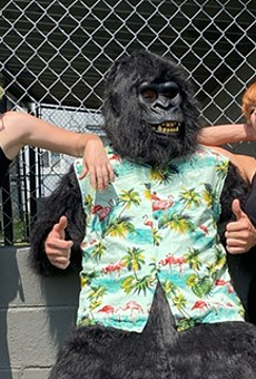 Detroit surf-punks Dear Darkness return with a gorilla on bass and a new 7-inch from Third Man Records (3)